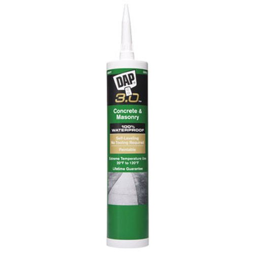 Dap 18370 Self-Leveling Concrete 3.0 Sealant 9.0-Ounce (Steps Concrete Patio)