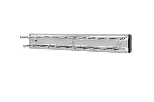 Rev-A-Shelf - TRC-12CR - 12 in. Chrome Pull-Out Side Mount Tie Rack