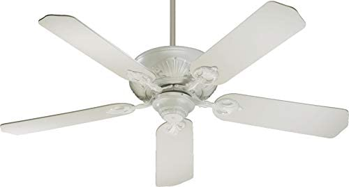 Quorum 78525-8, Chateaux Studio White Energy Star 52 Ceiling Fan