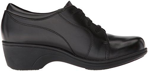 Sneaker En Cuir Noir De Dentelle Aravon Womens Hanover