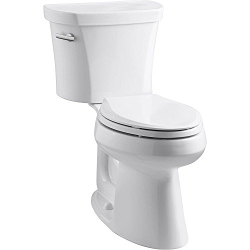 Kohler K-3949-0 Highline Comfort Height 1.28 gpf Toilet, 14-inch Rough-In, White