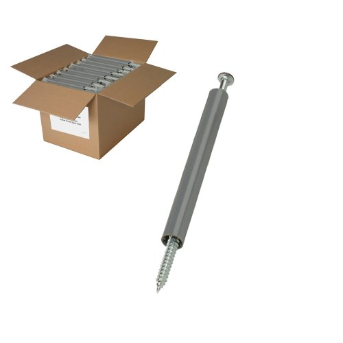 (25lb BROWN Gutter Screws with spacers)