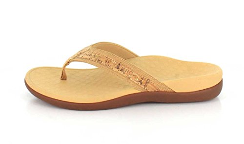 Vionic Womens Tide Ii Gold Cork