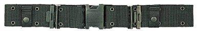 Style Nylon Pistol Belt - Marine Corps Style Nylon Q.R. Pistol Belt, Black, X-Large