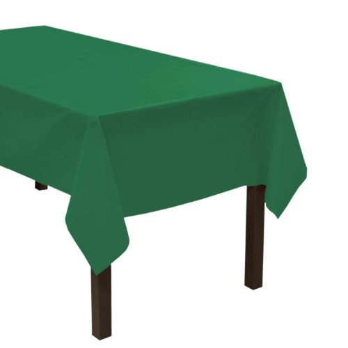 - Party Essentials Heavy Duty Plastic Table Cover Available in 44 Colors, 54