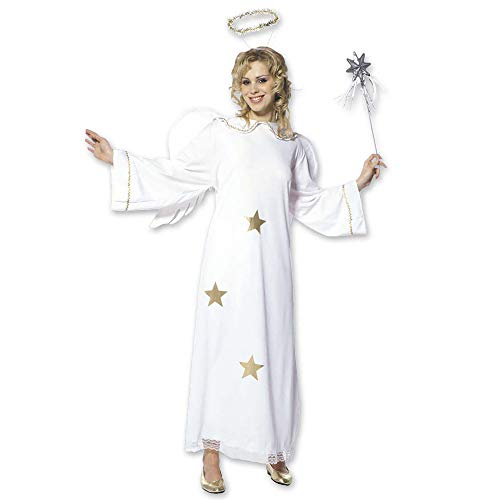 Ladies Star Angel Costume Large Uk 14-16 For Christmas Panto Nativity Fancy ()