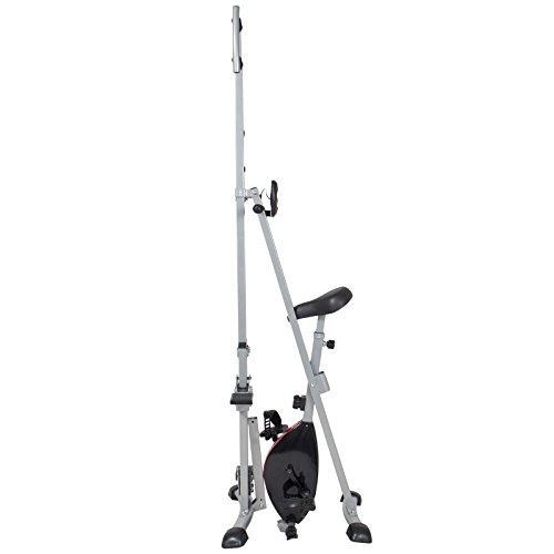 Total Body 2-IN-1 Vertical Climber Magnetic Exercise Bike Fitness Machine by BUY JOY (Image #3)'