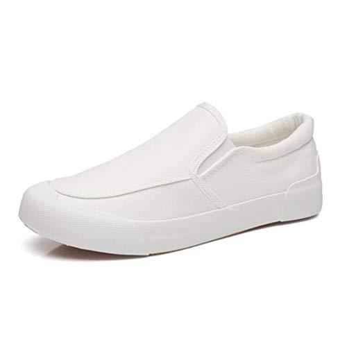 Estate Mocassini on Primavera Qianliuk Scarpe comode Casual Slip White Uomini Scarpe t00Uqw