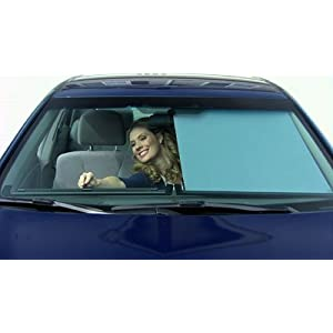 """THE E Z SLIDE SHADE"" for Retractable Sunshades Available for All Car Models. Please send the model and car year."