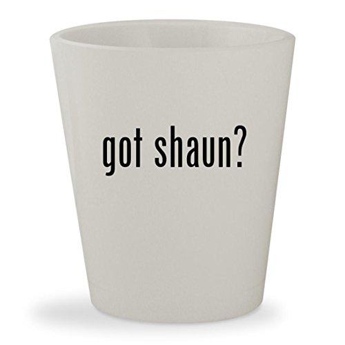 got shaun? - White Ceramic 1.5oz Shot (Shaun White Snowboarding Pc)