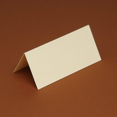 100 Blank Table/Place cards for weddings/partys etc (Cream Smooth) DIY Wedding & Crafts