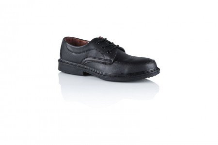 m073l Safeway Abeba–Zapatos, schnürschuhe, Manager zapato sin tapa protectora 01SRC Negro, negro