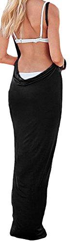 Lewi Brun - Camisola - Básico - Sin mangas - 70 DEN - para mujer negro