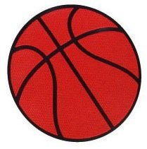 Poly Basketball Spots/Markers: Set of 12
