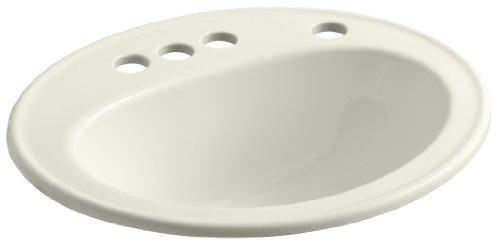 Pennington Self-Rimming Bathroom Sink with 4