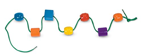 31mYnsnMUmL - Melissa & Doug Primary Lacing Beads with 30 Beads and 2 laces