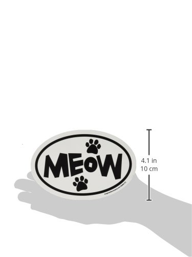 Imagine-This-4-Inch-by-6-Inch-Car-Magnet-Oval-Meow-Paws