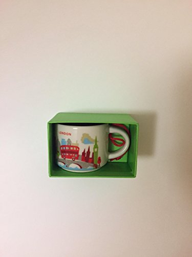 Starbucks London Ornament - You are Here YAH Mug - New in Bo