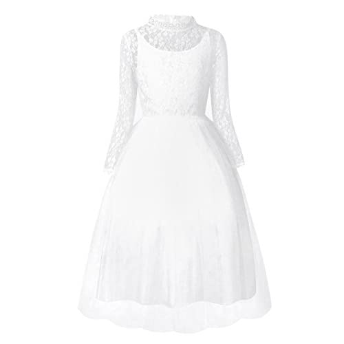 Vestido blanco nina fiesta
