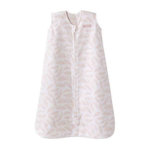 HALO Sleepsack Wearable Blanket Micro Fleece - Pine Leaves Pink, Size X-Large