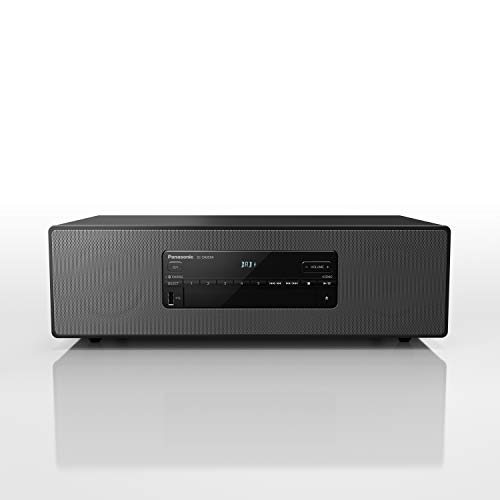 Panasonic SC-DM504EG-K Micro HiFi (40 W RMS, Digital DAB+, CD, FM, Bluetooth, USB, AUX), Zwart