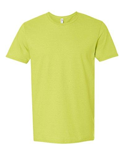 Fruit of the Loom Adult 4.7 oz. Sofspun« Jersey Crew T-Shirt-Citrus GREEN-3XL