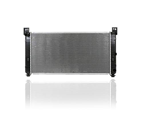 Radiator - Cooling Direct For/Fit 13419 09-13 Cadillac Escalade-Hybrid 08-11 Chevrolet Tahoe/Yukon-Hybrid Plastic Tank, Aluminum Core