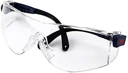 保護メガネ - ゴーグル、防風、砂、飛散防止、フロントガラス (Color : Clear)