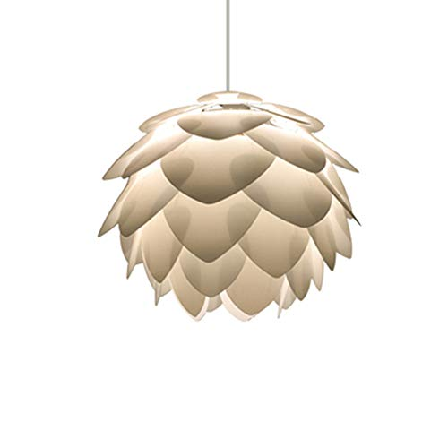 - Tlinksy Danish Pine Cone Chandelier Nordic Simple Acrylic Pendant Light Living Room Dining Room Study,32CM
