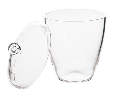 Chemglass Crucible, Quartz, with Lid, - CHMGLS