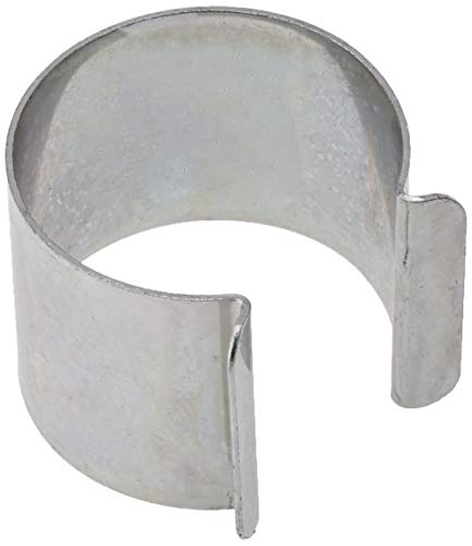 Set di 20clip metallo rivestimento zinco 35mm x 30mm per serra 1