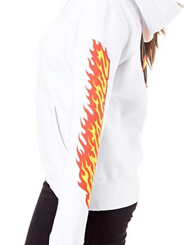 Sweat Capuche Santa Blanc Flame Femme À Cruz Dot Btxqwv5