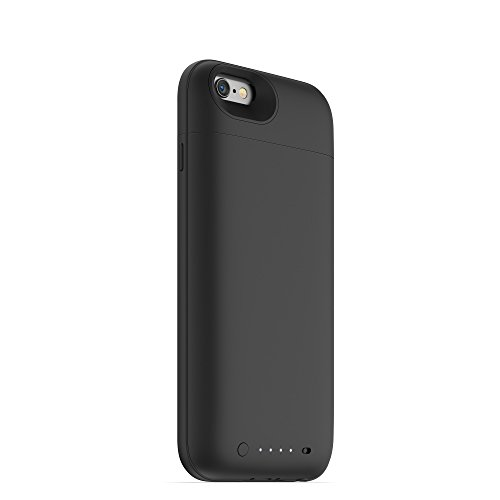 mophie juice pack air - Slim Protective Mobile Battery Pack Case for iPhone 6/6s - Black by mophie (Image #4)