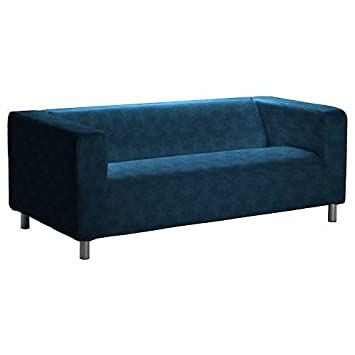Amazon De Pimp Your Couch Klippan 2er Sofa Bezug Kunstleder