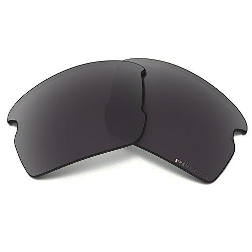 Oakley Flak 2.0 Prizm Polarized Replacement Lenses, Black Iridium Polarized, One Size