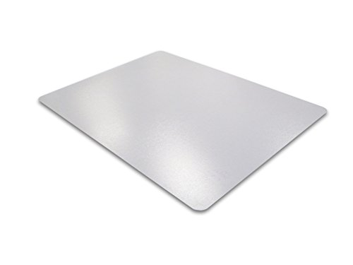 Desktex, Desk Protector Mat, Anti-Slip and Strong Polycarbonate, Rectangular, Clear, 29