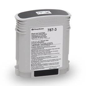 Authentic 787-3 Postage Meter Black Ink for Connect+