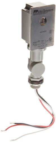 Morris Products 39020 Photocontrols Swivel Base, 2000W Tungsten Rating, 1000 (VA) Ballast Rating, 120 Voltage ()