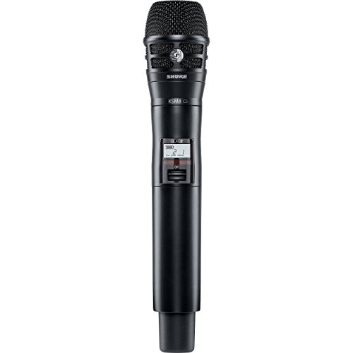 Shure QLXD2/K8B Handheld Wireless Transmitter with KSM8 Dualdyne Microphone, G50
