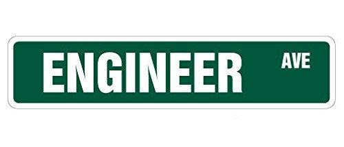 Cortan360 ENGINEER Street Sign civil chemical engineering electrical degree 8