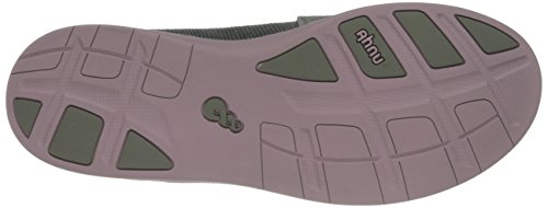 Ahnu Womens Telegrapg Leather Ballet Flat Agave Green X1v7WSsg