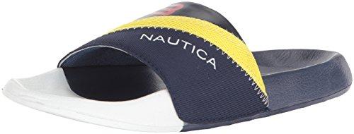 Nautica Kennick - Sandalias deslizantes para Hombre, Azul Marino, 9 M US