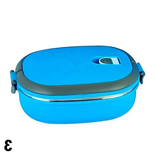 Mikash Insulated Lunch Box Stainless Steel Food Storage Container Essential Thermal | Model FDCNTNR - 714 | M