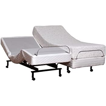 Amazon.com: Split King Size Leggett & Platt S-Cape Adjustable Beds ...