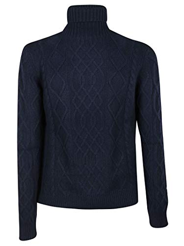 Ballantyne Men's N2p0025k00413777 Blue Cashmere Sweater