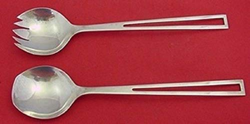 - Avanti by Celsa Sterling Silver Salad Serving Set All Sterling 2pc 10