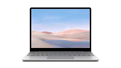 "Microsoft Surface Laptop Go - Ordenador portátil 2 en 1 de 12.4"" (Intel Core i5-1035G1, 4GB RAM, 64GB eMMC, Intel Graphics, Windows 10) Platino - Teclado QWERTY Español"