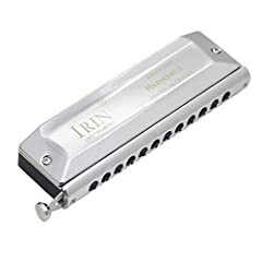 ❤❤Welcome to my shop❤❤ ★Features: The tuned harmonica is made of stainless steel diacritical keys, which is thick, non-deformable and responsive. Switch between normal and semitones to play any complex song. The tone is thick and round, and t...