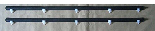 Motorstorex Weatherstrip Assy Door Belt Rubber Front Door Outer Left & Right for Toyota LN50 RN55 LN56 RN70 RN57 YN56 Pickup Truck