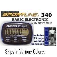 Sportline 340 Strider (Compact Pedometer)
